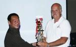Brian nhận Cup từ một giải thưởng Baby Champion. Koi show được tổ chức vào November-2008 của hội cá Koi ở thành phố San Jose-California. Bạn có thể truy cập thêm nhiều thông tin về những giải thưởng của hội từ www.znanorcal.org