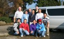 Group picture with Mr. Hisato Nogami of Nogami Koi Farm (stripe polo T-shirt) and Omosako Koi Farm (next to Mr.Hisato Nogami) and koi friends from Florida, Oregon, San jose, Hayward.